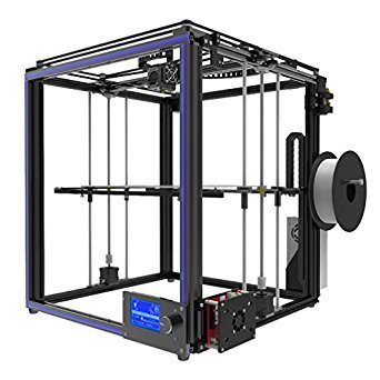 Tronxy X5S Premium 3D Printer Kit with SD Card | 360W Aluminium Structure High Precision DIY 3D Printing Machine -12864 LCD Display, Double Z Axis - Large Printing Size 330x330x400mm