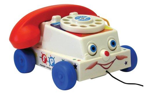 Fisher Price - 1694 - Jouet Premier Age - Téléphone à Tirer