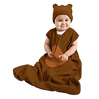 Bear Wearable Blanket Brown/Tan S