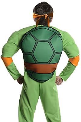 Rubie's Costume Men's Teenage Mutant Ninja Turtles Deluxe Adult Muscle