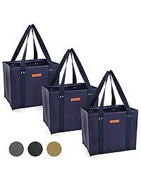 Bolsas de la compra reutilizables, Azul marino, 3