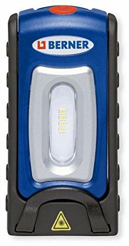 berner lampada led  Berner Pocket deLux Bright LED lampada da officina lampada + 1,8 m ...