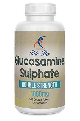 Sulfato de Glucosamina Rite Flex, 1000mg, 365 Cápsulas Recubiertas, 1 Año de Suministro