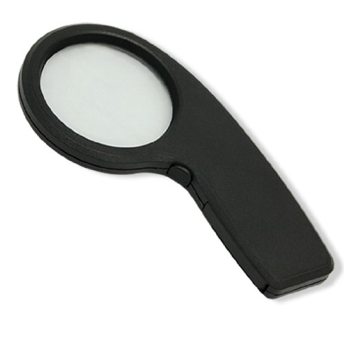 uxcell 9-shaped 4X LED Magnifier Reading Magnifying Glass