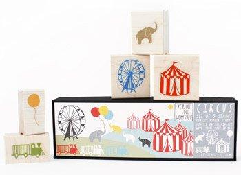 Yellow Owl Workshop Circus Stamp Set