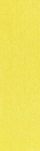 Bright House Solid Yellow Color Custom Size Runner 2 X 22   Area Rug