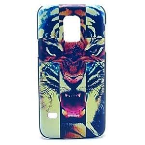 YULIN Teléfono Móvil Samsung - Cobertor Posterior - Gráfico/Dibujos Animados/Diseño Especial - para Samsung Galaxy Mini S5 ( Multi-color , Plástico )