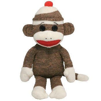 TY Beanie Babies Brown Sock