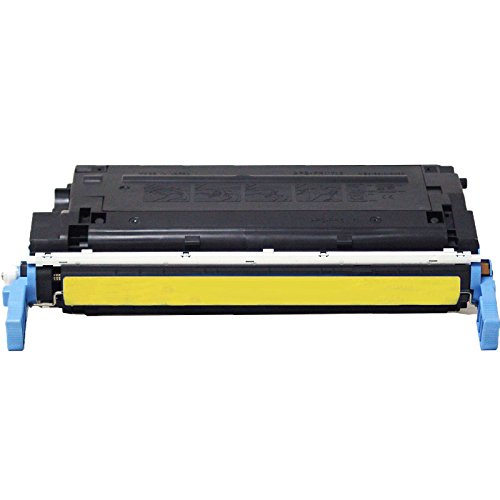 C9722a Replacement (1 Inktoneram Replacement toner cartridge for HP C9722A 641A Yellow Toner Cartridge LaserJet 4650 4650n 4650dn 4650dtn 4650hdn 4600 4600n 4600dn 4600dtn 4600hdn)