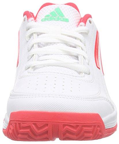 adidas Shock Tennis Ftwr bambini Sun Weiß Red Unisex S16 Sonic Bianco Glow da Attack S16 White Scarpe AUPTAfqFr