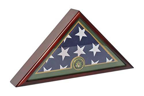us flag display case black - 6