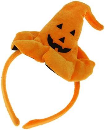 ハロウィン 学園祭 魔女 帽子 かぼちゃ カチューシャ 髪飾り ヘッドバンド 仮装 コスプレ