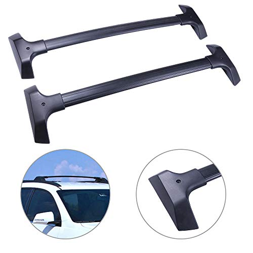 SCITOO fit for 2009-2017 Chevrolet Traverse Sport Utility Aluminum Alloy Roof Top Cross Bar Set Rock Rack Rail ()