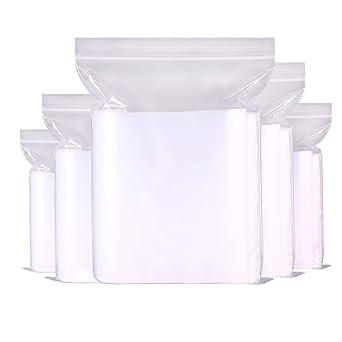 Amazon.com: Bolsas reutilizables de plástico con cierre ...