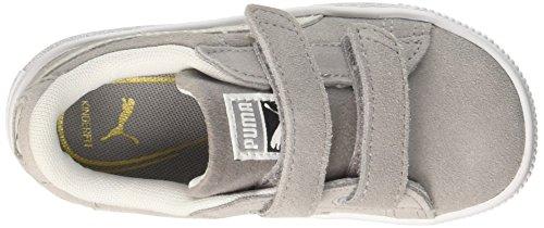 Puma Suede Classic V Inf, Zapatillas Para Niñas Gris (Ash-puma White)