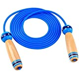 Jump Rope YunZyun Skip Rope Kids Children Jump Rope Skipping Skip Rope Adjustable Length Automatic Counting Blue