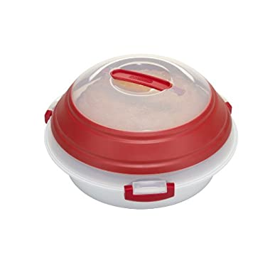Prepworks by Progressive Collapsible Pie/Deviled Egg Carrier