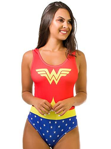 Body Kaisan Sublimado Cavado Nas Costas Wonder Woman (P)