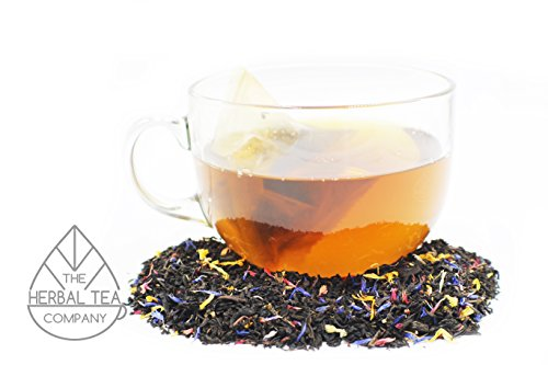 Holy Thistle Herb Blessed Tea Bags of a Million Flowers With Orange Flavour 50 pack by The Herbal Tea Company