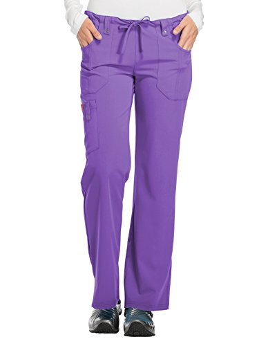 Dickies Xtreme Stretch Women's Drawstring Scrub Pant Xx-Large Purplicious by Dickies
