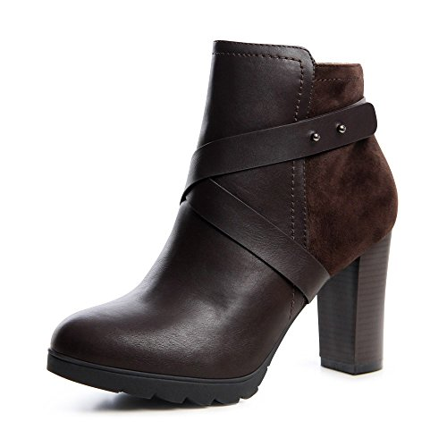 topschuhe24 - Botas para mujer Marrón - marrón
