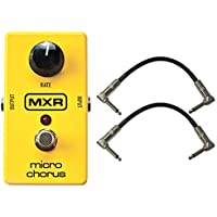 MXR M148 Micro Chorus Guitar Effects Pedal w/2 FREE 6