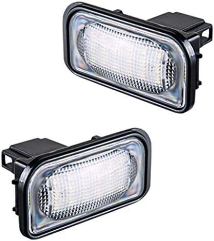 W203 4D Sedan Lampe /à Num/éRo De Voiture Pas De Flash Domilay Base De Lampe De Plaque Dimmatriculation sans Erreur pour Mercedes