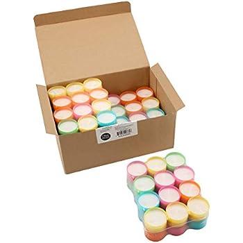 Stonebriar Multicolor Tea Light Candles, 6 to 7 Hr Extended Burn Time, 96 Pack