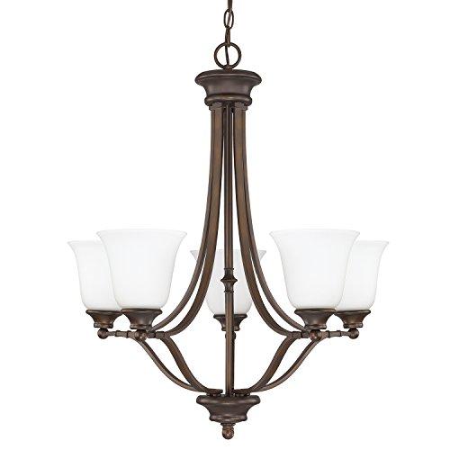Belmont Outdoor Chandelier - Capital Lighting 3415BB-242 Five Light Chandelier