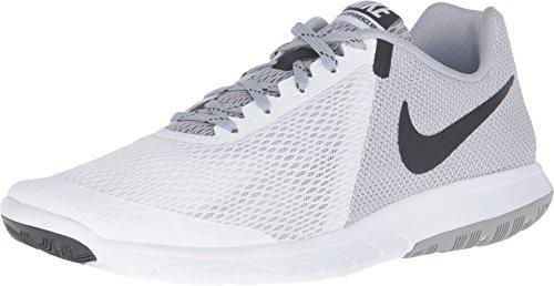 Nike Men's Shox NZ Running Shoe WHITE/BLACK-WOLF GREY - 12.5 D(M) US (Nike Shox Nz Mens Black And White)