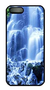 Cascades Polycarbonate Hard Case Cover for iPhone 5/5S Black Thanksgiving Day gift