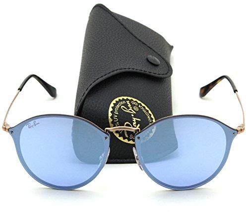 Ray-Ban RB3574N BLAZE ROUND Mirror Sunglasses 90351U, - 4258 Ray Ban