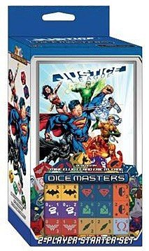 Dc Dice Masters Justice League Starter Set (Justice League Dice)