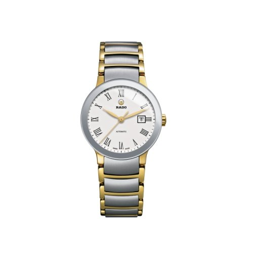Rado-Centrix-Automatic-White-Dial-Two-tone-Ladies-Watch-R30530013