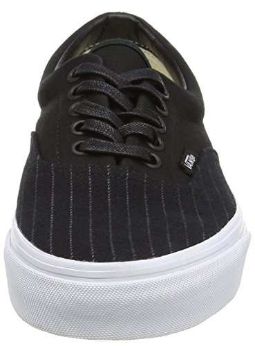 Vans Era - Zapatillas de skate unisex negro - Black (2-Stripe - Black/True White)