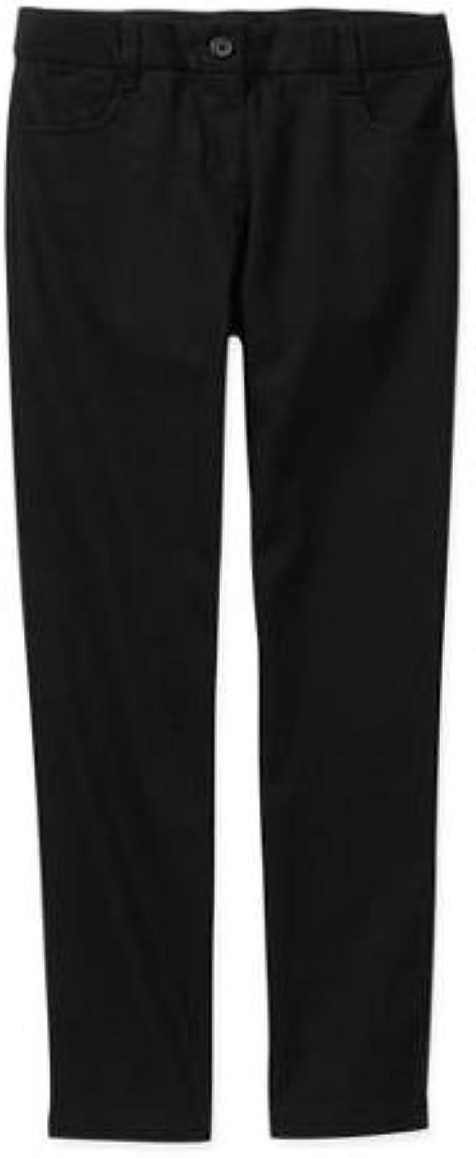 Essentials Girls Slim School Uniform Trousers