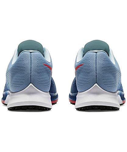 NIKE Mens Air Zoom Elite 9 Blue Jay/Solar Red Size 11 (11 D (M) - Elite Zoom Nike