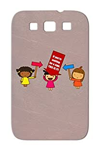 If Youre Waiting For A Sign THIS IS IT I Love You Jokes Talk To Me Friendzone Cute Tee T Shirt Funny Red Cover Case Sumsang Galaxy S3 TPU