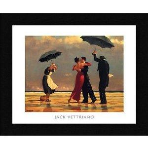 The Singing Butler By Jack Vettriano Framed Art Print