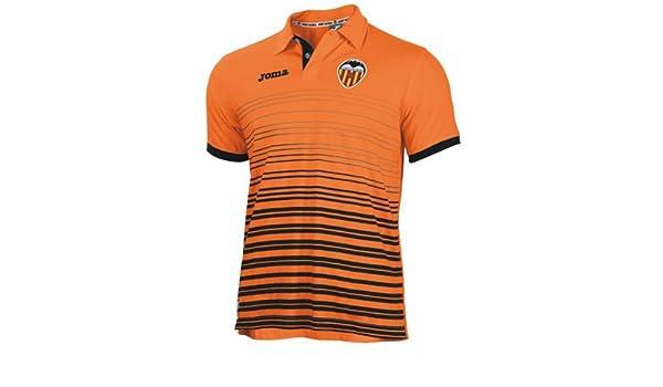 Joma Valencia C.F. - Polo, Color Naranja, XL: Amazon.es: Ropa y ...