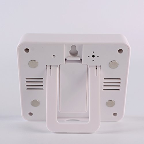 Topker Intérieur Extérieur LCD Thermomètre Numérique