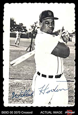 Amazoncom 1969 Topps Deckle Edge 9 Willie Horton Detroit Tigers