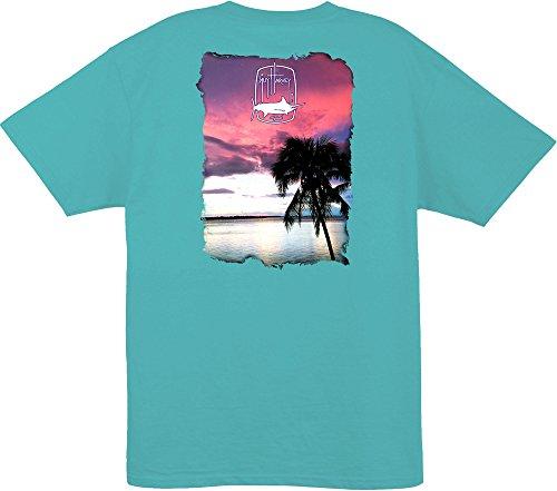 cheap Guy Harvey Mens Lone Palm T-Shirt on sale