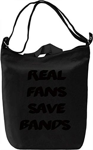 Band Fan Borsa Giornaliera Canvas Canvas Day Bag| 100% Premium Cotton Canvas| DTG Printing|