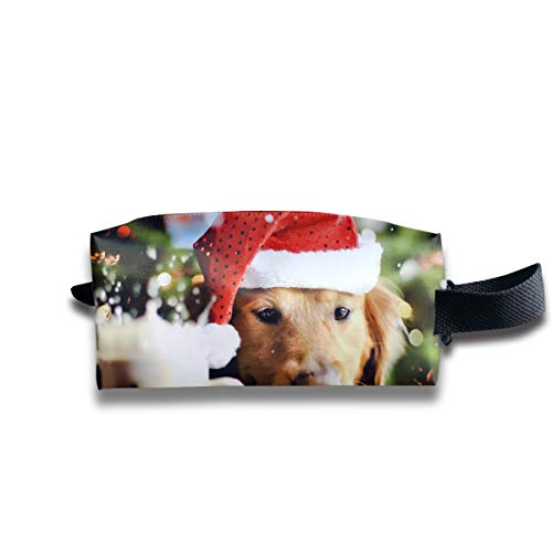 (Toiletry Bag Pet Dog Garden Flag Shaving Cosmetic Makeup Storage Travel Sundry Sewing Organizer Portable With Handle)