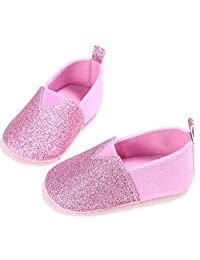 Liobaba Baby Shoe,Newborn Baby Shoes First Walkers Shoes Anti-Slip Soft Sole Casual Shining Design Shoes for Toddler Infant