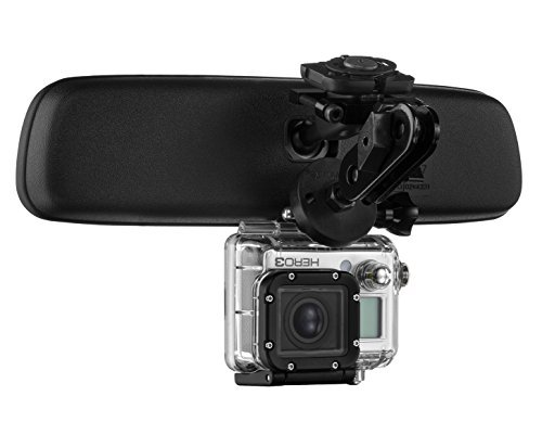 Radar Mount Mirror Mount Action Camera Bracket -Compatible with GoPro Hero Hero3 Hero4