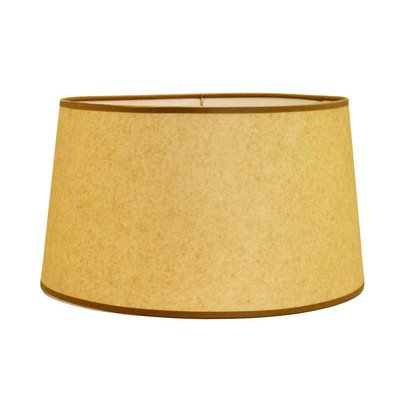 Amazon.com: Hard Back Linen Shallow Drum Shade Size: 17 ...