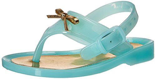 Baby Deer Girls' 01-5327 Sandal, Aqua, 3 Child US Toddler