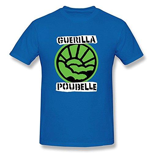 men-funny-normal-fit-guerilla-poubelle-t-shirts-size-xxl-color-white